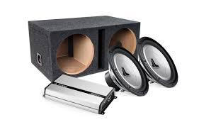 jl audi jl audio bass pack amp sub packages car audio package