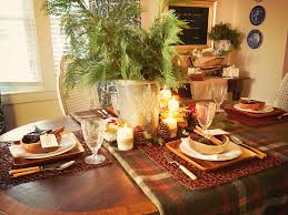Table Decorations For Christmas Rustic Winter Table Setting Ideas Hgtv