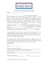 Sample Of Authorization Letter For Receiving Credit Card 100 Credit Authorization Letter Credit Card Authorization