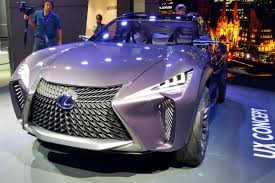purple lexus lexus ux concept arrives at 2016 paris motor show auto express