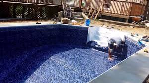 radiant in ground pool installation youtube