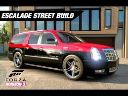 build a cadillac escalade supercharged escalade build forza horizon 3