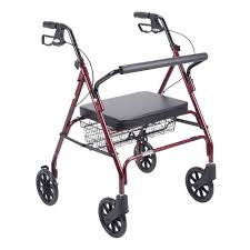 senior walkers with seat walkers mobility aids the home depot