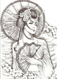 evil geisha tattoo pin geisha japanese warriors tattoo pictures