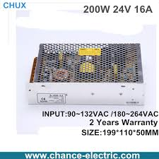 le 24v dc led switching mode power supply sing le output adjustable