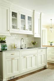 Cream Subway Tile Backsplash by 76 Best Kitchen Images On Pinterest Cream Cabinets Kitchen And Home