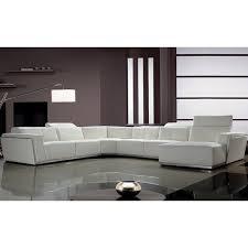 orren ellis coalpit heath leather reclining sectional u0026 reviews