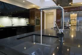 Kitchen Faucet Black Finish Glossy Black Kitchen Faucet Kitchen Design