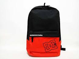 Tas Dc Asli jual tas backpack dc bunker cb m bkpk xkkn black orange original
