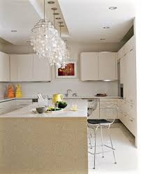 limestone countertops lighting over kitchen island flooring