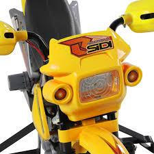 electric motocross bike uk homcom kids ride on scrambler motorbike electric motocross 6v