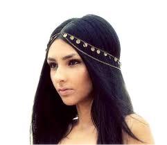 chain headpiece fashion women crown chain