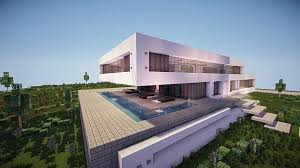 design a mansion fusion a modern concept mansion minecraft house design