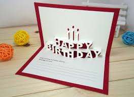 pop out birthday cards diy pop up birthday card birthday card templates free premium