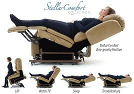 Orthopedic Recliner Chairs Amazon Com Stellarcomfort Collection Uc680 Zero Gravity Lift