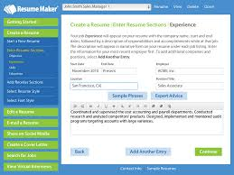 Examples Of Easy Resumes Write A Better Resume Resume Maker Individual Software