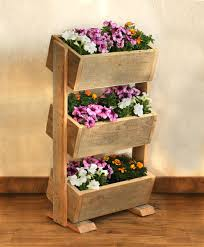 barn wood planter box this 3 tier planter box makes the most of