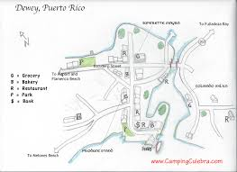 Map Of Puerto Rico by Camping Culebra Puerto Rico Maps