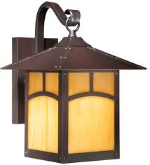 Outdoor Lighting Wall Sconce Vaxcel Tl Owd090eb Taliesin Craftsman Espresso Bronze Finish 13 75