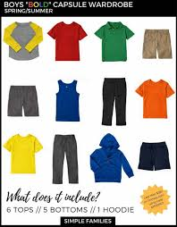 Wardrobe Clothing How To Create A Basic Capsule Wardrobe For Kids Simple Families