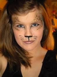 Halloween Cheetah Costumes 20 Leopard Face Paint Ideas Cheetah Face