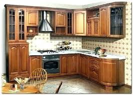 meuble cuisine massif meuble de cuisine bois massif en chene ceruse blanc