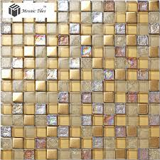 glass tile for bathrooms ideas glass mosaic tile iridescent golden glass tile bathroom
