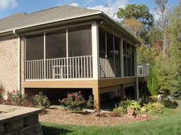 How To Build A Awning Over A Deck 2017 Screened In Porch Cost Screened In Porch Prices Cost To Build