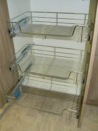 Kitchen Cabinets Bunnings Alolatc Com O 2017 10 X Pull Out Wire Basket Chrom