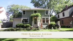 Middleton Home 7020 Elmwood Ave Middleton Wi 53562 Youtube