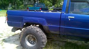 lifted toyota pickup 1987 toyota pickup 4x4 youtube