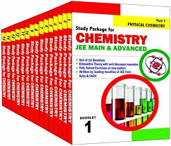 study package for chemistry set of 15 booklets jee main and
