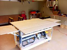 garage workbench garage workbenches heres diy portable workbe