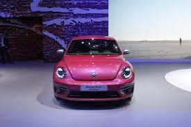 light pink volkswagen beetle vw beetle concepts show future special editions autoguide com news