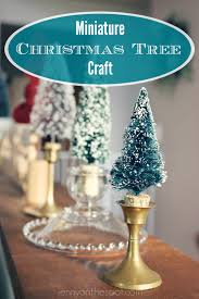 easy miniature christmas tree craft y u0027all jenny on the spot