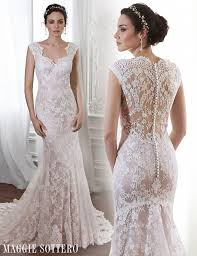 Lace Wedding Dresses Friday Favorite Pale Pink Lace Wedding Dress Londyn Love Maggie
