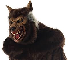 Latex Halloween Costume Amazon Werewolf Deluxe Scary Beast Monster Horror Latex