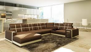 canap d angle marron pas cher superbe canape dangle en u meubles salon design marron papier peint
