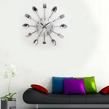 Compare Prices On Wall Watch For Kitchen Home Decor Online by Compare Prices On Steel Kitchen Clock Online Shopping Buy Low