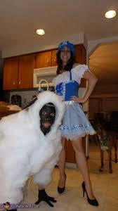 Halloween Sheep Costume Bo Peep Sheep Couple Halloween Costume Idea