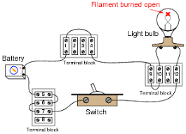 basic circuit troubleshooting basic electricity worksheets