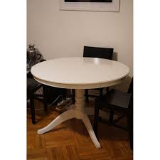 ikea ingatorp round extendable dining table aptdeco