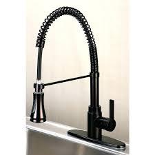 Kohler Commercial Kitchen Faucet Kohler Bellera Rubbed Bronze Pull Kitchen Faucet