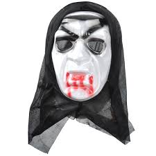 scream bleeding ghost face mask for halloween in party masks from