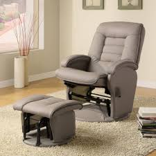 swivel rocking chair with ottoman