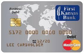 debt cards meet your new debit card kansas bank