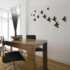 Dining Room Wall Decals Wall Decal Flock Of Birds Bird Wall Decals Coolwallart