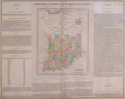 Indiana Road Conditions Map Antique Maps Of Indiana