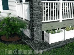porch column ideas accentuate your home u0027s front exterior