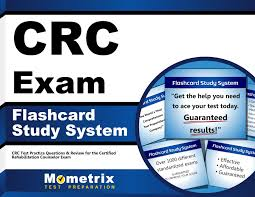 crc exam flashcard study system crc test practice questions